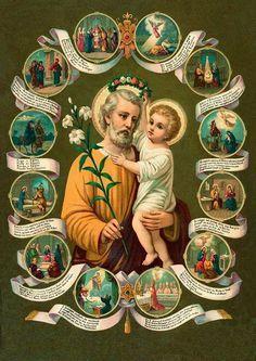 San José Esta oración a San José fue encontrada en el año 50 de Nuestro Señor. Y fue enviada en 1505 por el Papa al Emperador de...