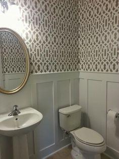 stencils for bathroom walls uk - Google Search