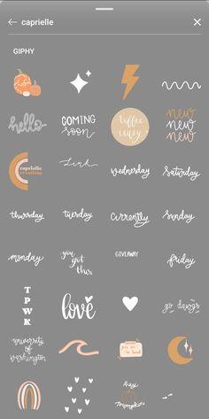 Instagram Words, Instagram Emoji, Iphone Instagram, Instagram And Snapchat, Insta Instagram, Instagram Story Template, Instagram Story Ideas, Instagram Quotes, Instagram Editing Apps