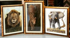 These Tabacchino frames by @romamoulding truly do these wonderful pieces of art justice! #art #pictureframing #customframing #denver #colorado
