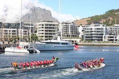 Dragon Boat Racing Dragon Boat, Adventure Activities, Cape Town, Travel Tips, Africa, Racing, Tours, Running, Travel Advice