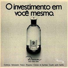 Perfume Canoe by Dana #Brasil #anos70 #retro #anunciosAntigos #vintageAds
