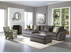 grey fabric gray fabric and rec rooms on pinterest. Black Bedroom Furniture Sets. Home Design Ideas