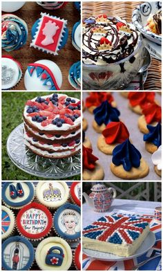 Britishness in all these cakes