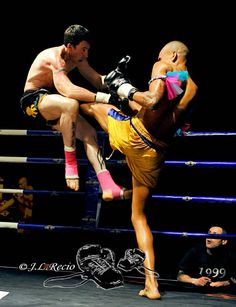Thrust Kick that'll knock you off your feet