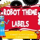 Organizing is key and labeling makes it even easier! There are six different robot theme labels with six X 2 per sheet. Robot Classroom, Ela Classroom, Classroom Themes, Classroom Activities, Robot Theme, Teacher Hacks, Teaching Resources, Teaching Ideas, First Grade