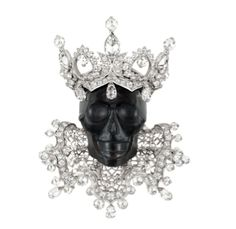 "ROI D'OBSIDIENNE PENDANT by Dior: Platinum, white gold, ""rainbow"" obsidienne and diamonds"