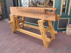 Will Myers' Moravian Workbench | Lost Art Press
