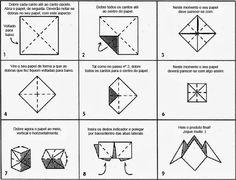 como fazer origami quantos queres passo a passo - Pesquisa Google