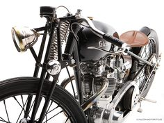 The Bullet - Custom Falcon Motorcycle