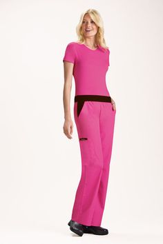 Flexible Cargo Pocket Pant Shocking Pink  from NZD $79.95