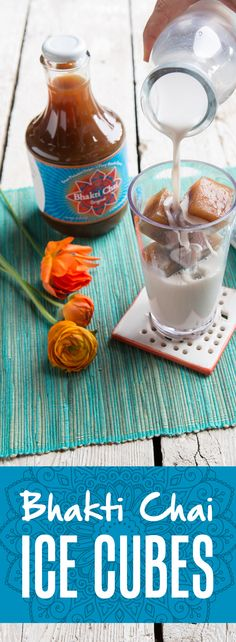 Freeze Bhakti Chai concentrate in an ice cube tray to make the most delicious cubes you've ever had. Say goodbye to watery iced chai and hello to the world first ice cubes made of fire ;)