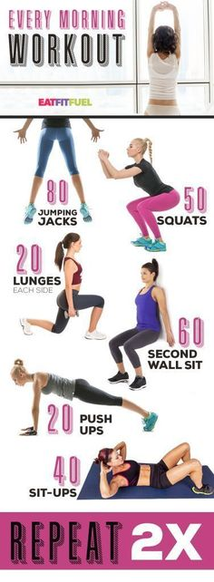 Six-pack abs, gain muscle or weight loss, these workout plan is great for women.. Find more relevant stuff: victoriajohnson.wordpress.com