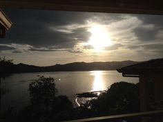 Sunrise this morning ♥ #sunrisecostarica #costarica #livingincostarica
