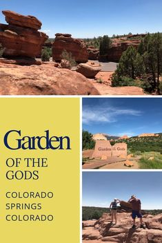 If your idea of beauty involves craggy rocks, mountains and stunning sky scapes, then you need to visit Garden of the Gods just an hour south of Denver. Colorado Places To Visit, Places To Go, Vacation Trips, Vacation Ideas, Us Road Trip, Travel Ideas, Travel Inspiration, Travel Tips, Worldwide Travel