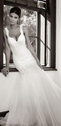 wedding dress with boning