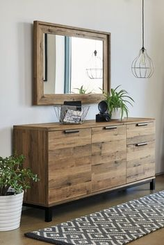 Buy Bronx Large Sideboard from the Next UK online shop Dining Room Sideboard, Large Sideboard, Oak Sideboard, Dining Room Furniture, Living Room Sideboard Ideas, Credenza, Oak Dining Room, Rustic Sideboard, Houses