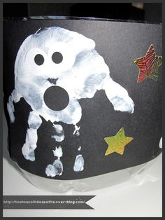 .. Sac a friandises fantôme Halloween ..