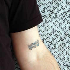 Fabric-Inspired Tattoos on the folks at Spool and Loop in Philadelphia