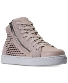 f5fe76815adc8f Skechers Women s Prima - Leather Lacers High-Top Casual Sneakers from  Finish Line - Tan