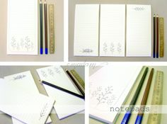notepads by emadam