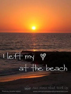 #beachgirls leave our hearts at the beach ☆  re-pinned by http://www.waterfront-properties.com/