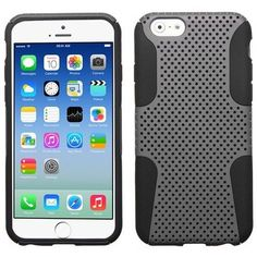 MYBAT Astronoot Hybrid Case for iPhone 6 - Gray/Black
