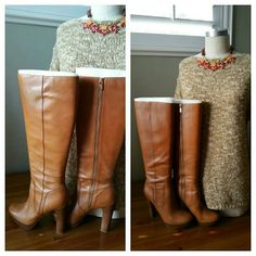 Selling this Michael Kors Leather Knee High Platform Boots in my Poshmark closet! My username is: taylord2covet. #shopmycloset #poshmark #fashion #shopping #style #forsale #MICHAEL Michael Kors #Shoes