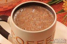 Foto: Café Iguaçu Hot Chocolate Coffee, Chocolate Covered Coffee Beans, Chocolate Tiramisu, Coffee Frappuccino, Coffee Milkshake, Coffee Mousse, Coffee Cafe, Coffee Drinks, Cupcake Recipes