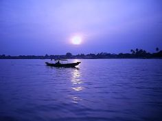 Musi river, Palembang Indonesia | Violet diamond of Royal Kingdom