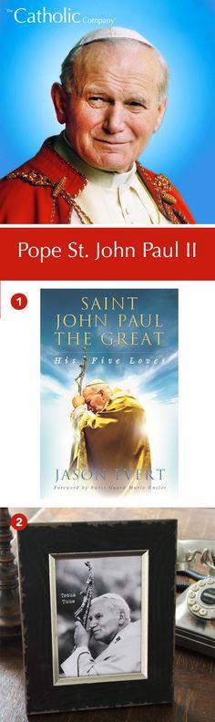 1002800-St. John Paul the Great: His Five Loves 9880034- JPII Totus Tuus Print