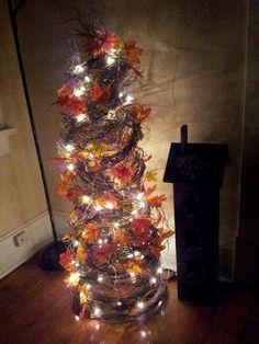 Tomato Cage Fall Tree