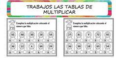 TRABAJAMOS TABLAS DE MULTIPLICAR CON ESTAS ACTIVIDADES DIVERTIDAS