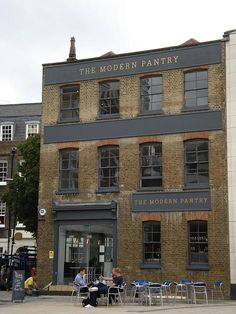 the modern pantry in london. a cafe + food shop.