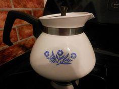 Corning ware tea pot