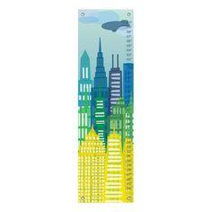 Found it at Wayfair - City Skyline Growth Chart