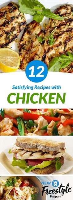 12 Delicious Chicken Recipes | With chicken now 0 SmartPoints on WW Freestyle there are so many possibilities!