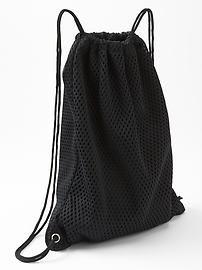 GapFit mesh drawstring bag