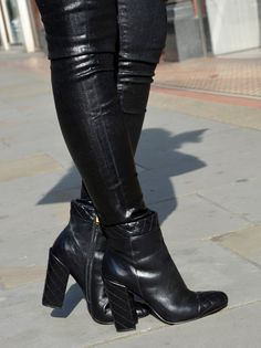 Quilted boot from Luiza Barcelos