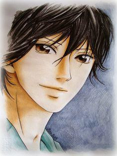 Kou Mabuchi -Tanaka from Ao Haru Ride manga Manga Kawaii, Anime Manga, Anime Art, Hot Anime Boy, Anime Guys, Ao Haru Ride Kou, Tanaka Kou, Mabuchi Kou, Blue Springs Ride