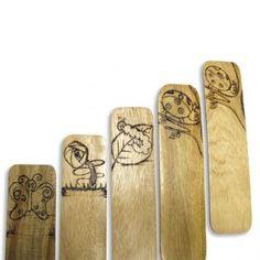 madera y pirograbado