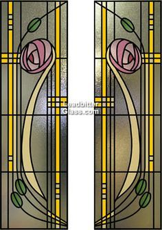I want stained glass windows, especially in the Rennie Mackintosh style.