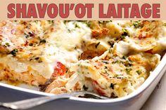 """La recette: Lasagnes au saumon, via le site """"Les Recettes de ma Mère"""" (béchamel,chavouot,fromage,halavi,lasagnes,plats).  http://lesrecettesdemamere.net/recette/lasagnes-saumon/"""