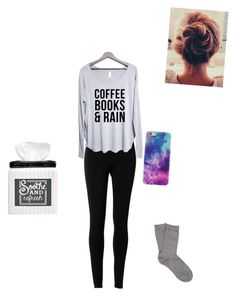 """Cuz I'm sick"" by unicornlover17 ❤ liked on Polyvore featuring Max Studio, Falke and Avanti"