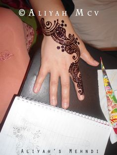 Henna Design, Mehndi http://www.facebook.com/AliyahsMehndi