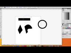 A quick easy tutorial on how to make simple and complex shapes in adobe illustrator using basic pathfinder tools, I go over the pin tool, shape tool and the ...
