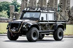 We've seen a replica. Now's your chance to own the real thing. This 2014 Land Rover Defender SVX JB 24 is one of just ten examples built for the production of Spectre, the 24th film in the James Bond franchise...