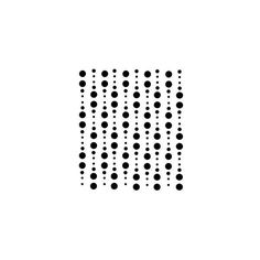 (38) * Art Stencil Template Dots in a Row | Pictures Perfect for... ❤ liked on Polyvore