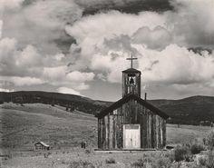"""EDWARD WESTON  1886 - 1958 """"E"""" Town, New Mexico Date:1933"""