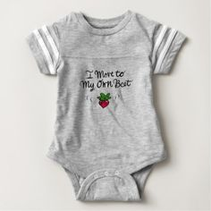 #cute #baby #bodysuits - #Move to My Own Beet Baby Bodysuit